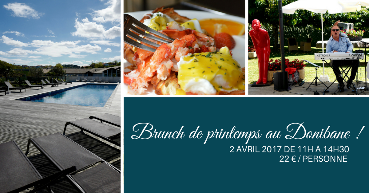 Brunch du printemps au Donibane !